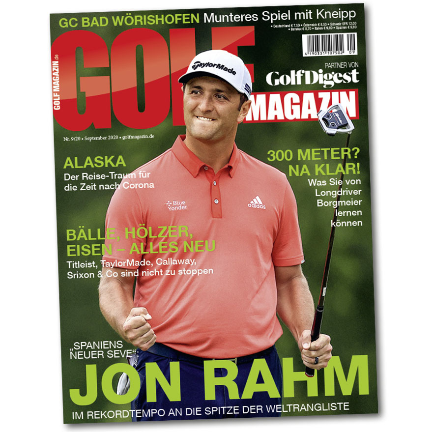 GOLF MAGAZIN September-Ausgabe 2020