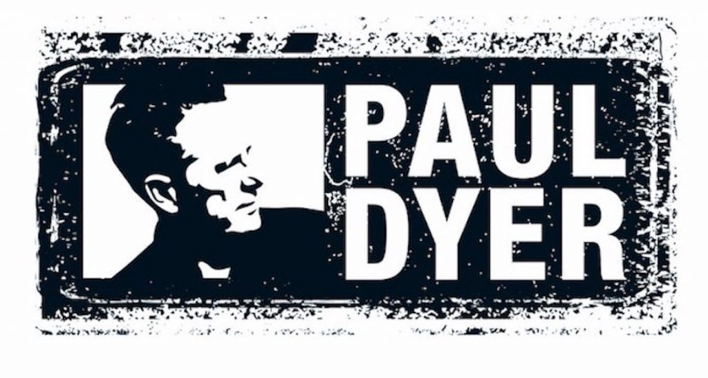 Stamp Paul Dyer Golf-Mythen.
