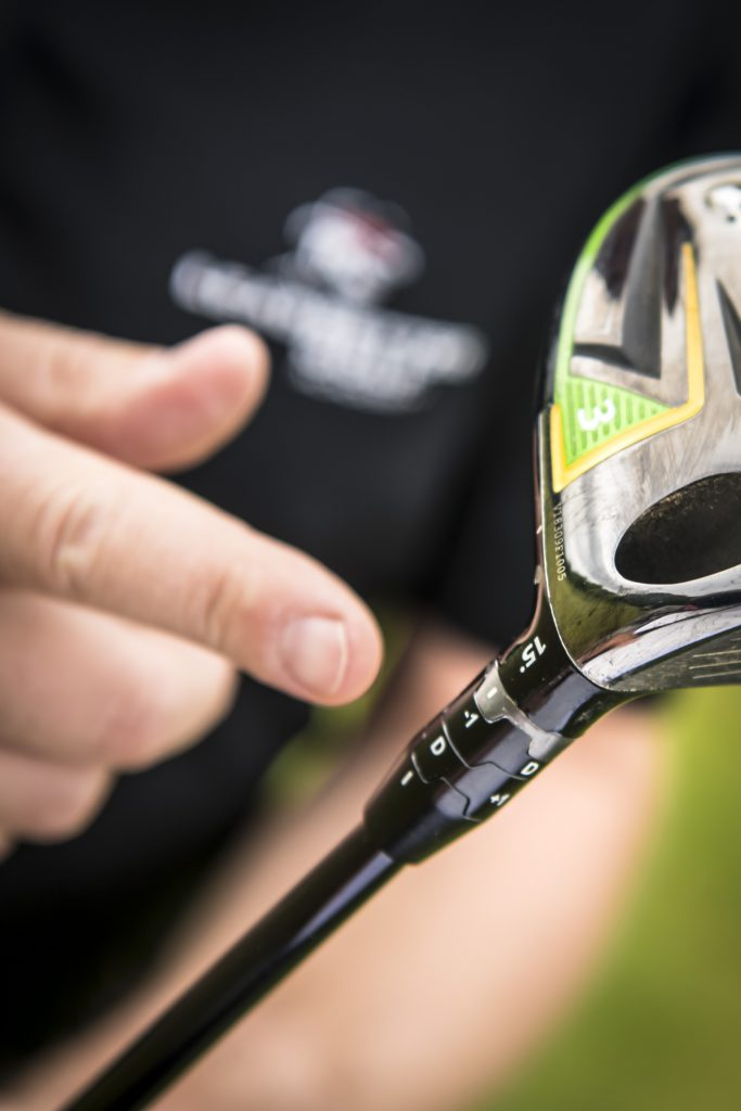 Der Tipp vom Trainer: Besser mit etwas mehr Loft spielen. Der kann direkt am Schläger verändert werden (Foto: Stefan von Stengel).