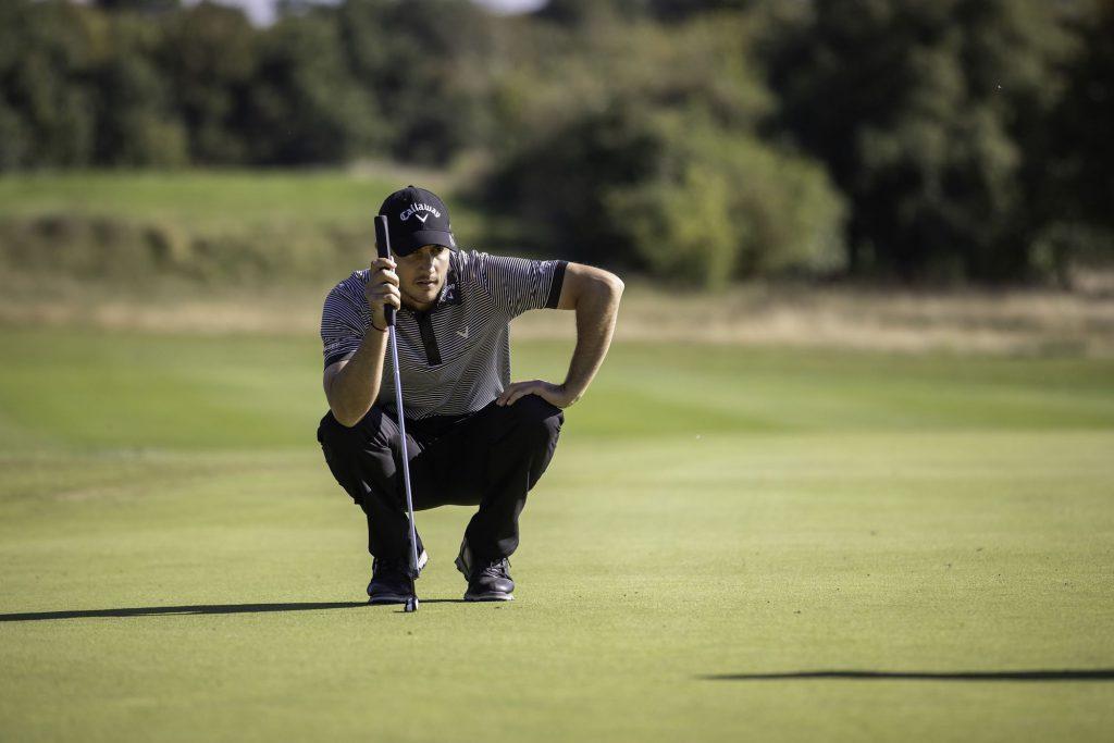 Der Franzose Julien Brun wird Zweiter beim Finale der Pro Golf Tour in Adendorf und landet auch auf Rang 2 der Pro Golf Tour Order of Merit 2020. (Foto: Stefan Heigl/Pro Golf Tour).