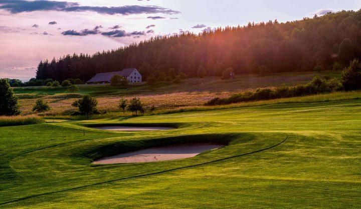 Golfen am Bodensee: Schloss Langenstein - der Country Club.
