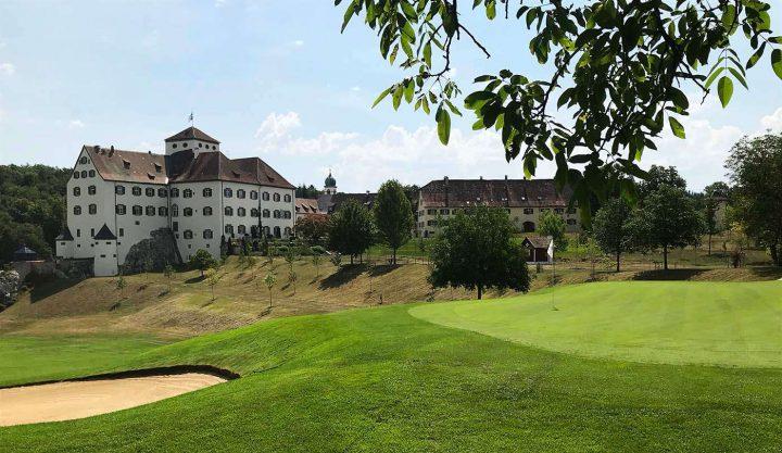 Golfen am Bodensee: Schloss Langenstein - der Country Club (©PvS).