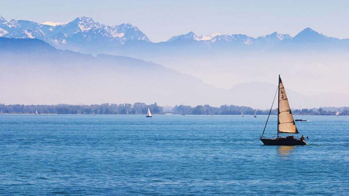 Golfen am Bodensee: ©shutterstock