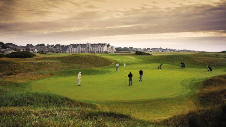 Carnoustie Golf Links (Championship Course) – GJ-Score: 84 Punkte