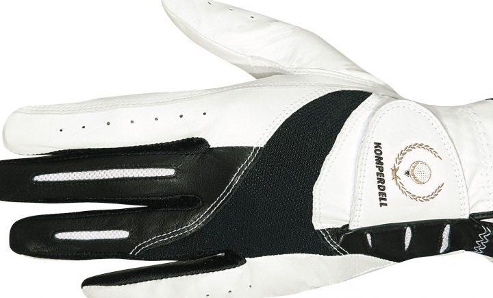 Komperdell Leather Golf Glove Der Cabretta-Lederhandschuh hat Lycra-Einsätze, die optimale Passform und Bewegungsfreiheit garantieren sollen. Das weiche, geschmeidige Leder sorge für einen hohen Tragekomfort und guten Grip. Für Damen und Herren. Preis: 14,95 Euro
