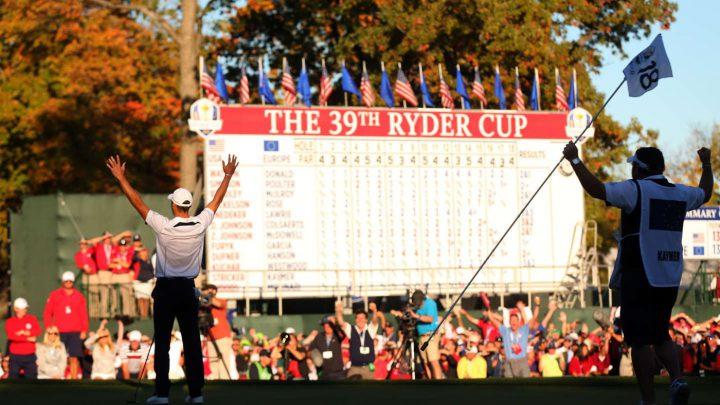 Ryder Cup 2012: Martin Kaymer und Craig Connelly