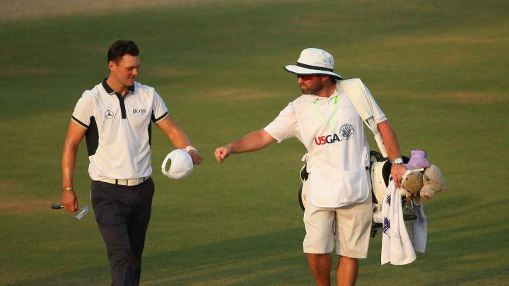 US Open 2014 Martin Kaymer und Craig Connelly