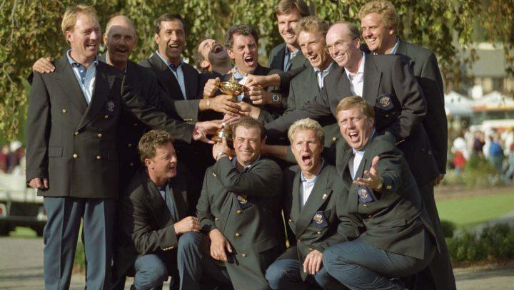 Teil der erfolgreichen Ryder-Cup-Geschichte: Costantino Rocca, 1985 mit Team Europe