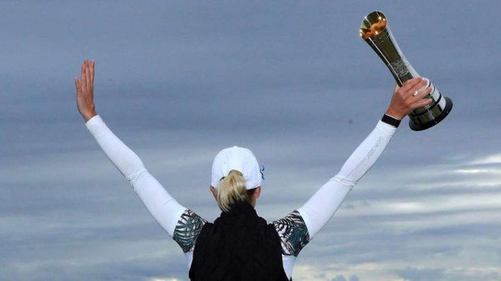 Well done: Sophia Popov gewinnt als erste deutsche Proette mit der AIG Women's Open ein Major