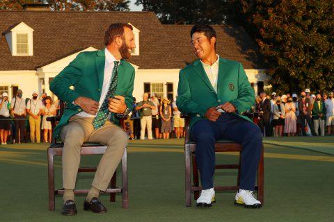 85. Masters: Hideki Matsuyama und Dustin Johnson