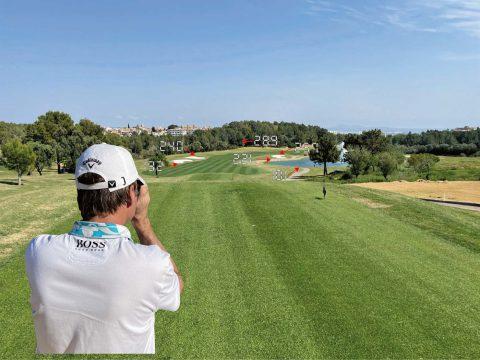 Distanz messen mit laser golf