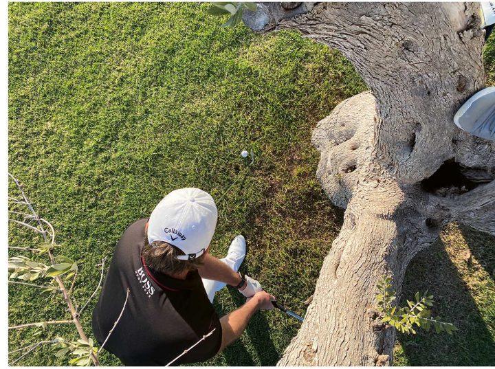 Trainingstipps Golf Schwungrichtung