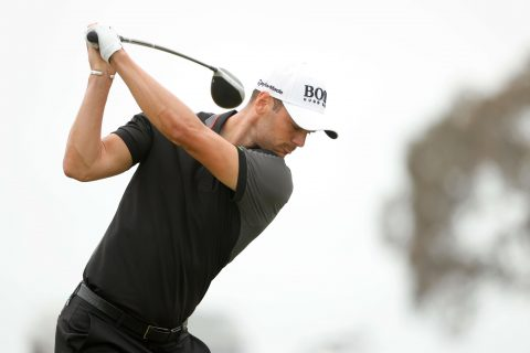 SAN DIEGO, CALIFORNIA - JUNE 20: Martin Kaymer of Germany plays his shot from the fifth tee during the final round of the 2021 U.S. Open at Torrey Pines Golf Course (South Course) on June 20, 2021 in San Diego, California. (Photo by Ezra Shaw/Getty Images)