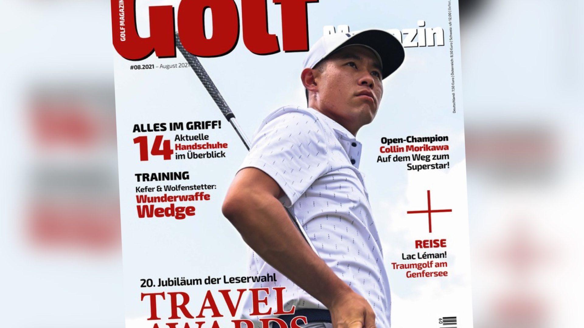 Neue Ausgabe Golf Magazin