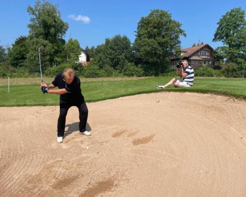 Golf Magazin 09/21 - Fotoshooting Howard Carpendale GC Beuerberg