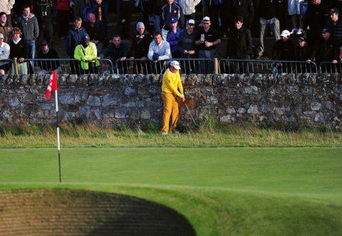 Spanish golfer Miguel Angel Jimenez play