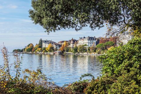 Montreux am Genfersee