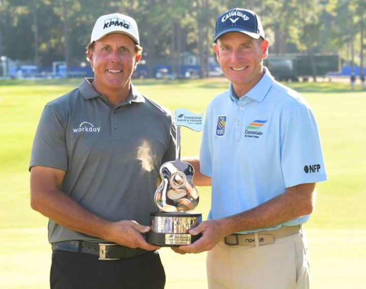 Phil Mickelson, Jim Furyk, PGA Tour Champions, Constellation Furyk and Friends, 2021